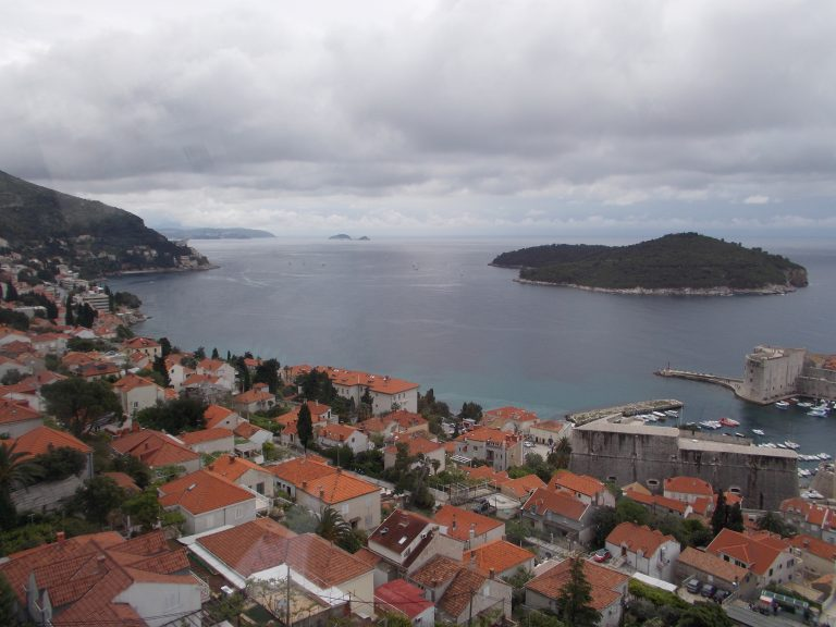 Cable Car Dubrovnik View
