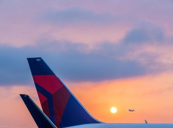 Delta adds Service - Tail of a Boeing 767-300 - Photo provided by Delta Airlines