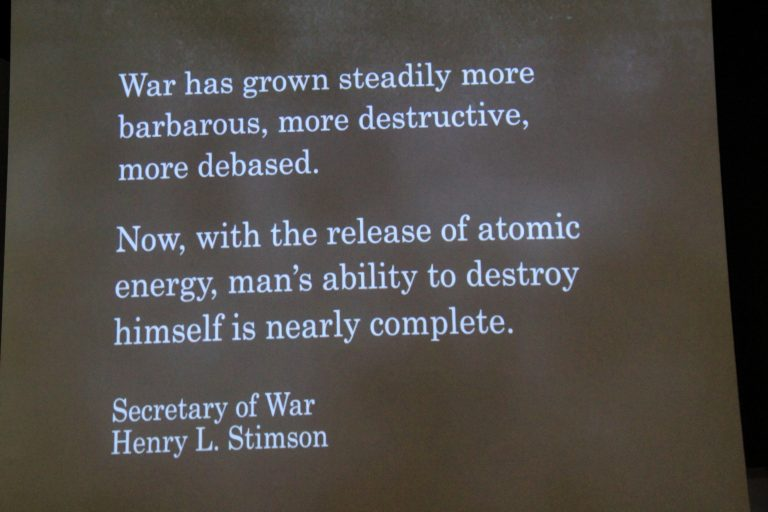 Henry L Stimson Quote World War II Museum