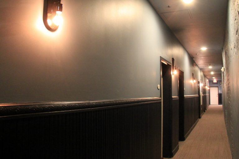 3rd Floor Hallway at Old 77 Hotel and Chandlery