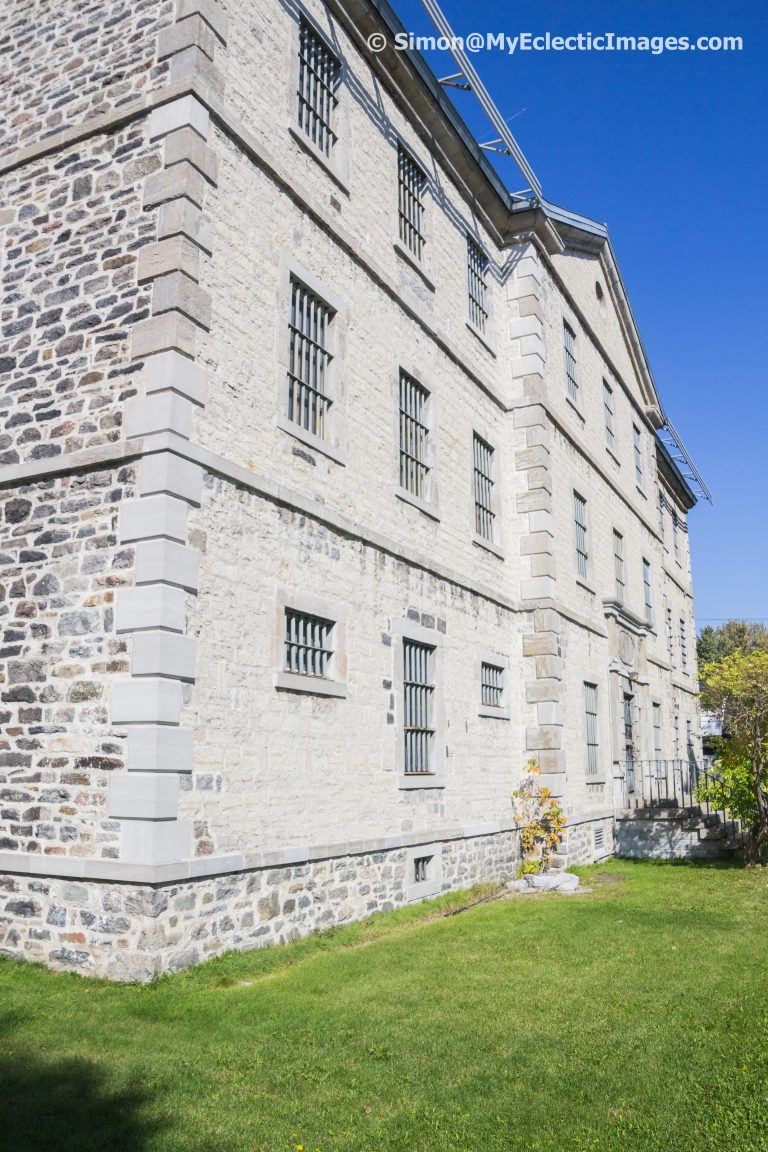 Outside of the Trois Rivières Prison