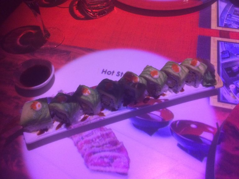 Inamo Restaurant Dragon Roll