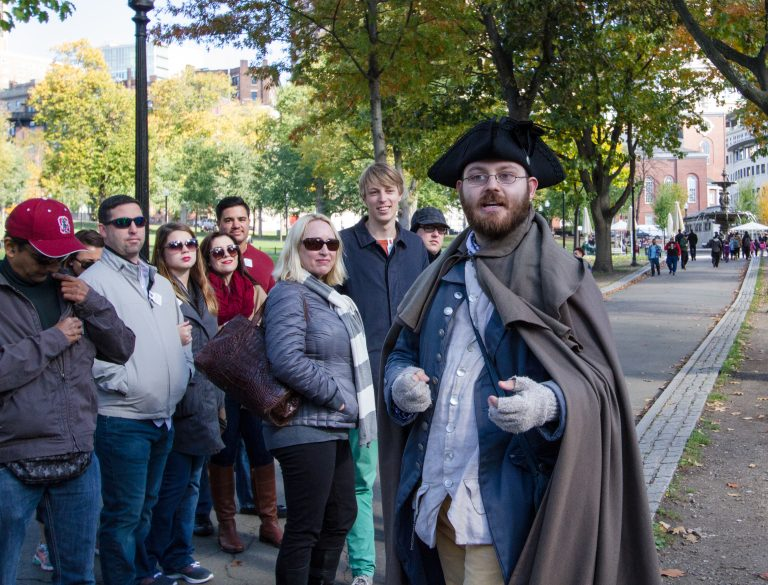 Start of Freedom Trail at Boston Common The Rooted Gypsy on MilesGeek