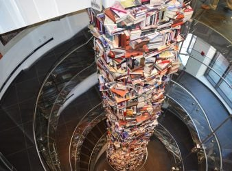 Tower of Books about Abraham Lincoln