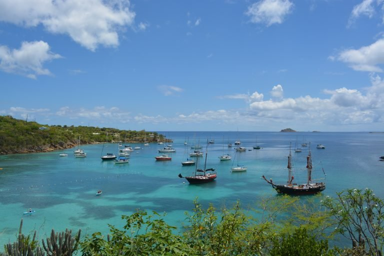 View from Jost Van Dyke