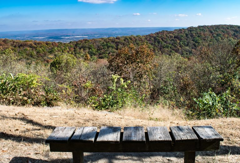 Scenic Overlook at Monte Sano State Park