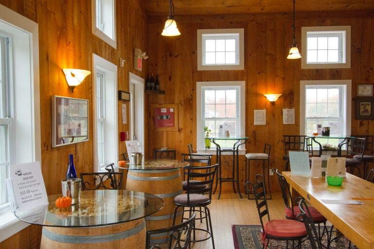 Langworthy Farm Winery Tasting Room - The Coastal Wine Trail