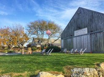 Lawn at Carolyn's Sakonnet Vineyard