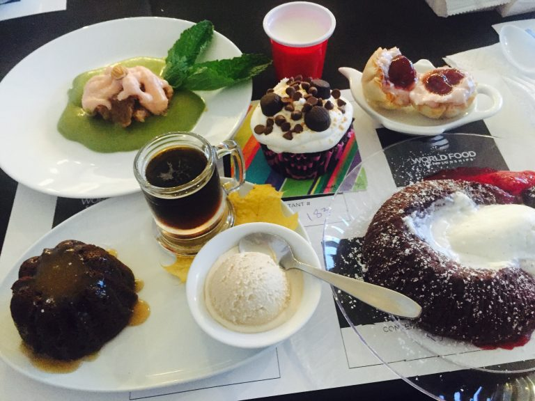 Five Desserts at World Food Championships in Orange Beach