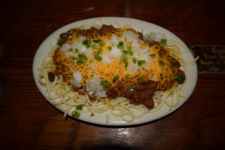 Chili Plate - Hard Times Cafe