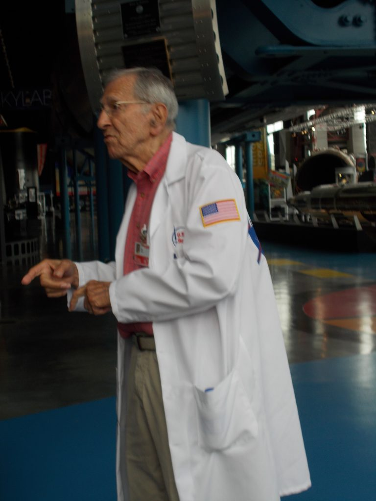 Alex McCool Jr, Retired NASA Engineer and Space Center Docent