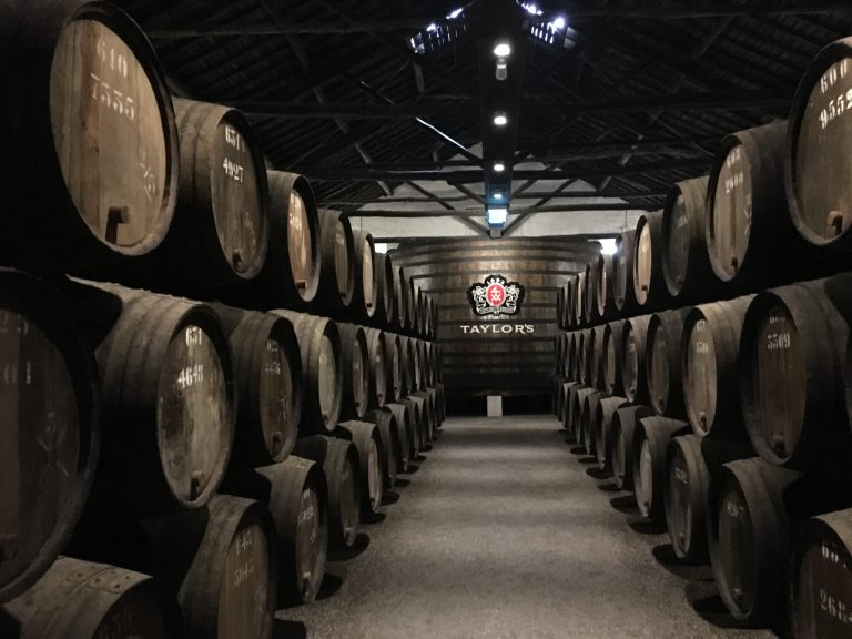 Taylor's Port Cellar Self Guided Tour Area