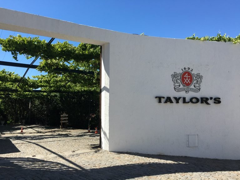 Taylor's Port Wine Cellars in Vila Nova de Gaia