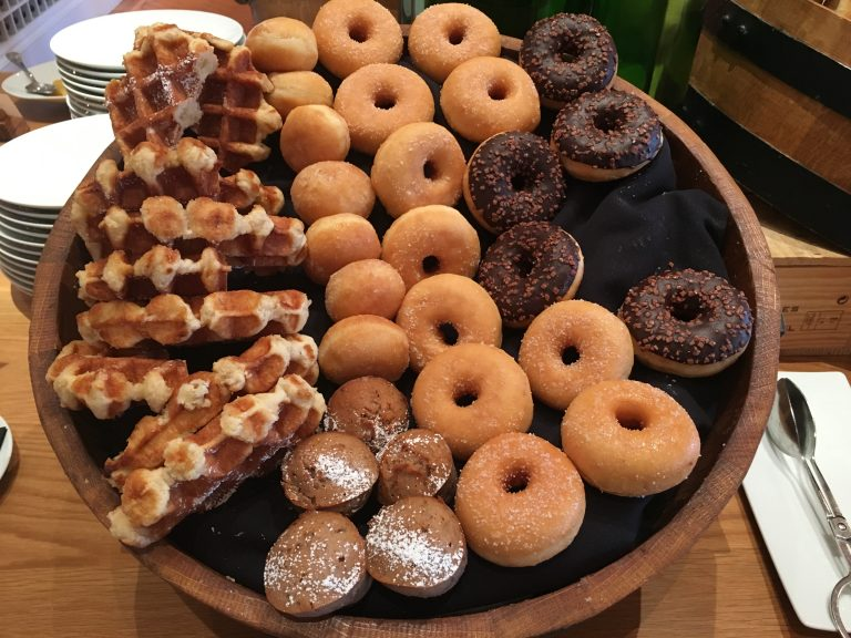 Baked Goods at Breakfast Buffet - Yeatman Hotel Porto
