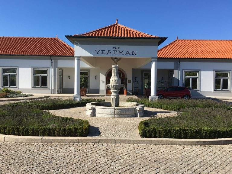 Front of Yeatman Hotel in Vila Nova de Gaia Portugal