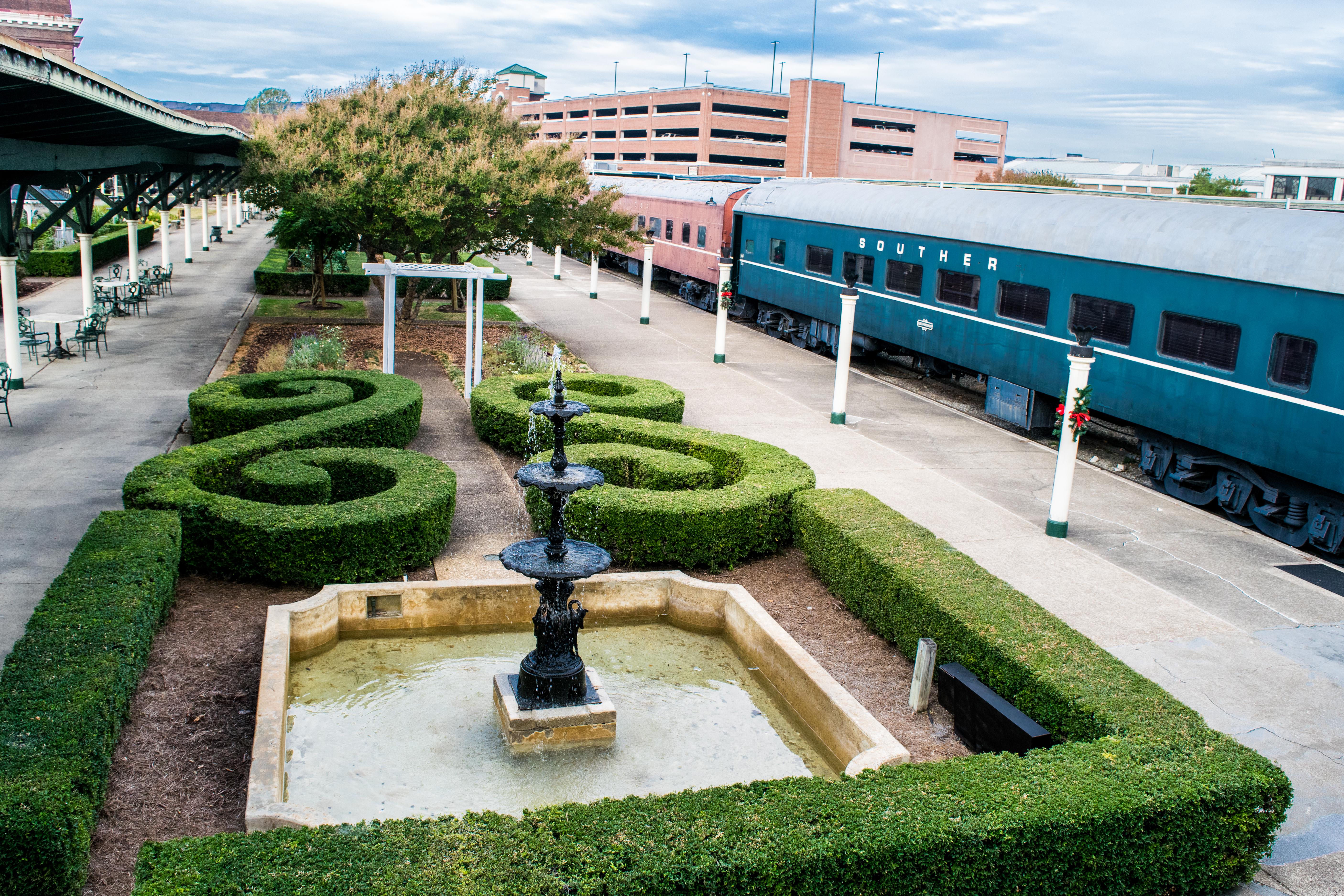 Garden Courtyard at Chattanooga Choo Choo