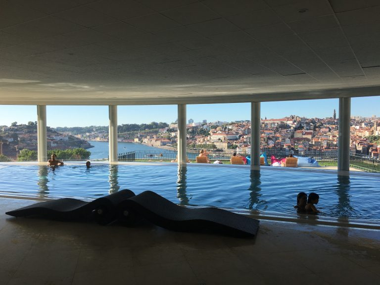 Indoor Pool at Yeatman Hotel - Portugal