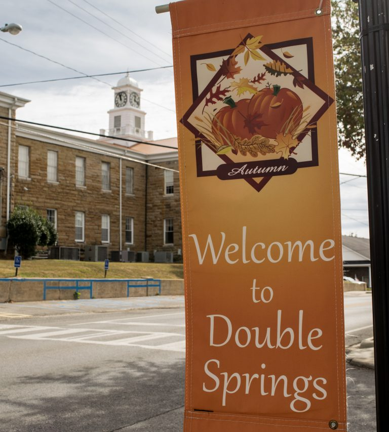 Welcome to Double Springs, Alabama