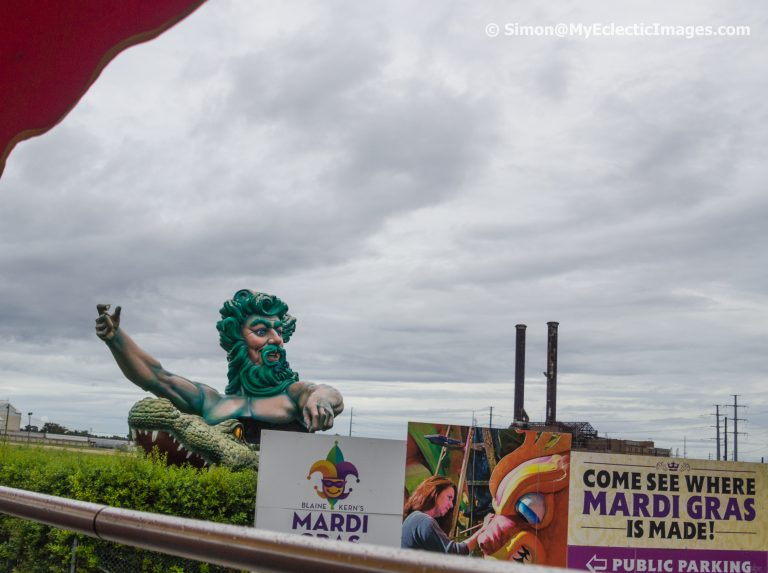 Entrance to Mardi Gras World
