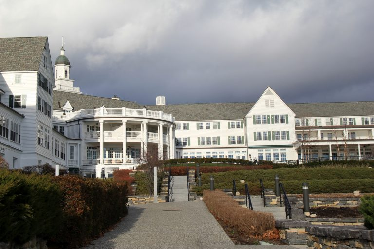 The Sagamore Resort from Lake George
