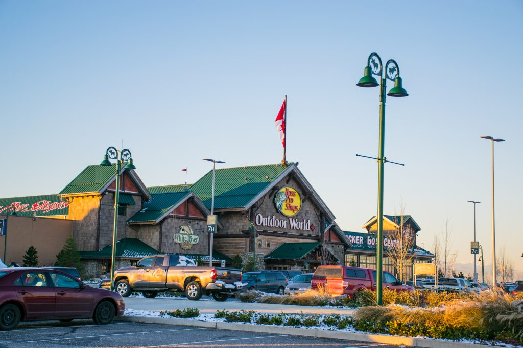 Bass Pro Store Main Entrance Tsawwassen Mills