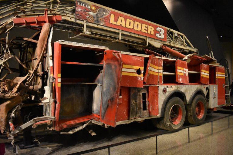 Fire Truck From Ladder 3 from 9/11