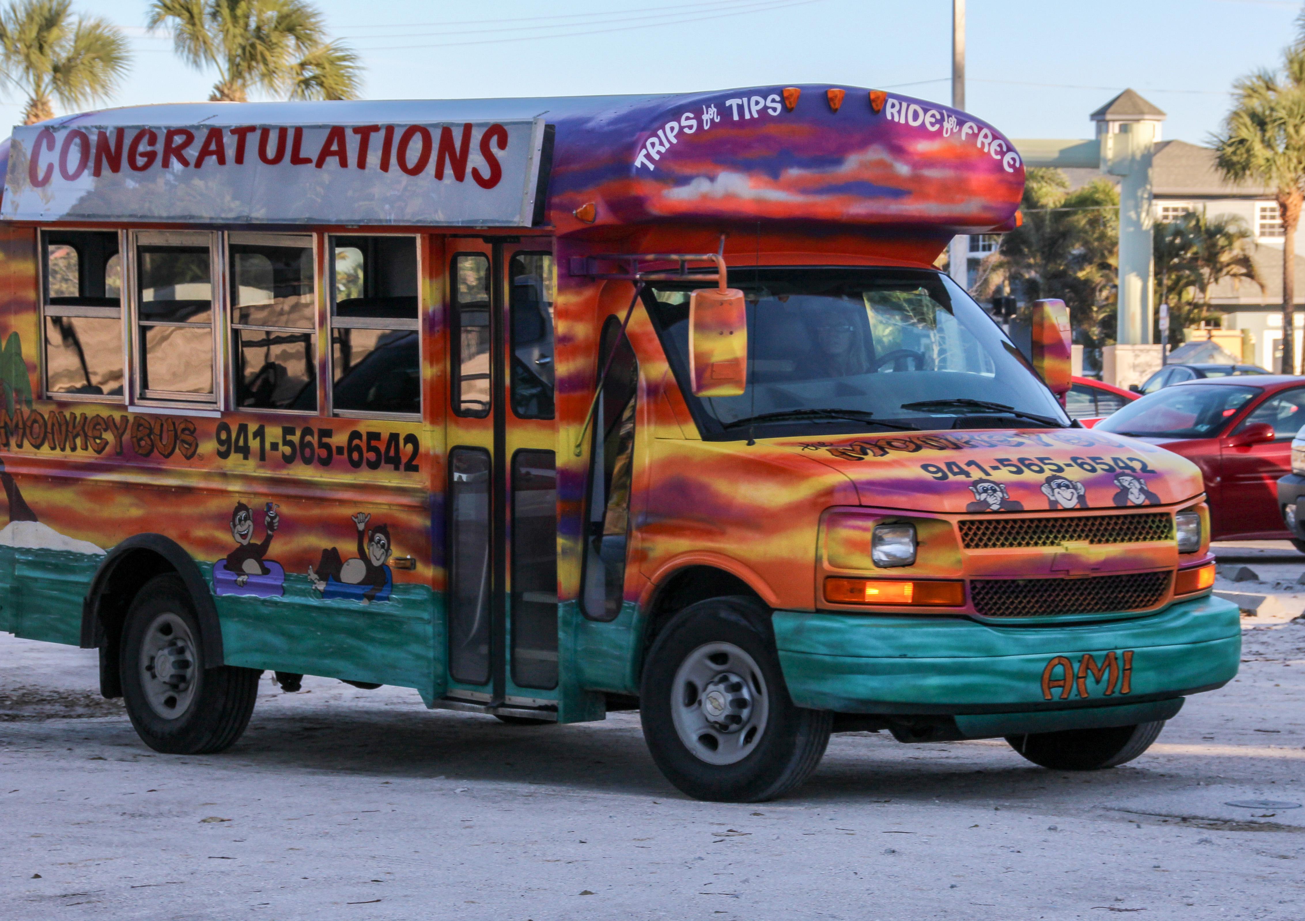 Minkey Bus Anna Maria Island Florida