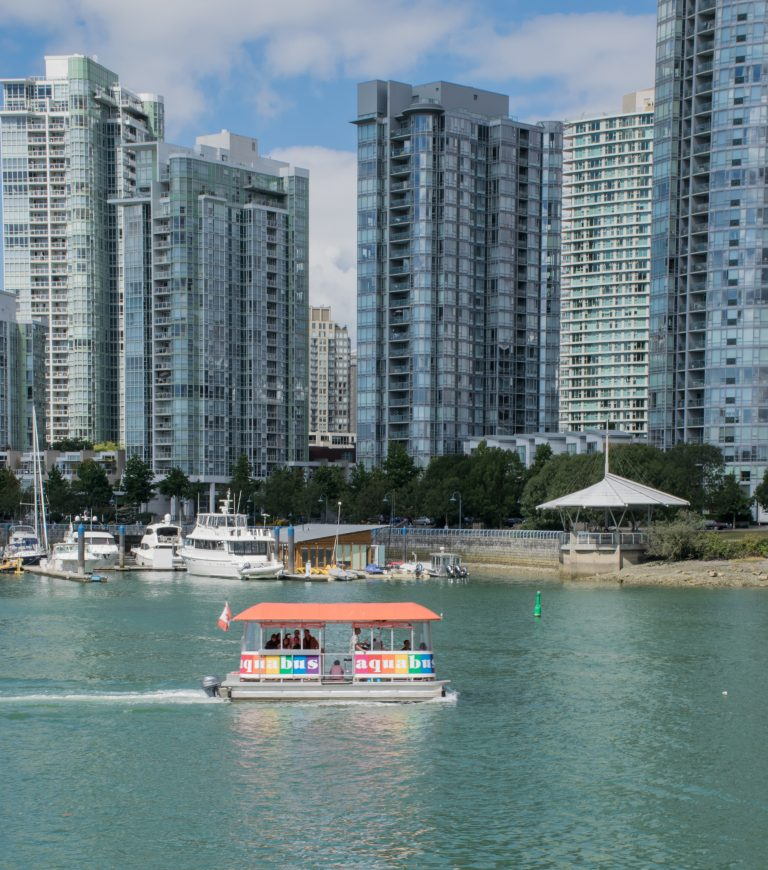 Aqua Bus Cruising False Creek