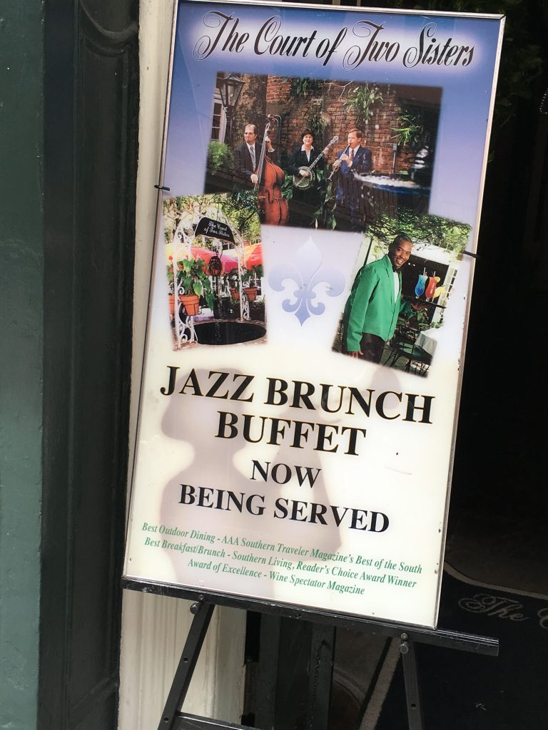 Court of Two Sisters Jazz Brunch