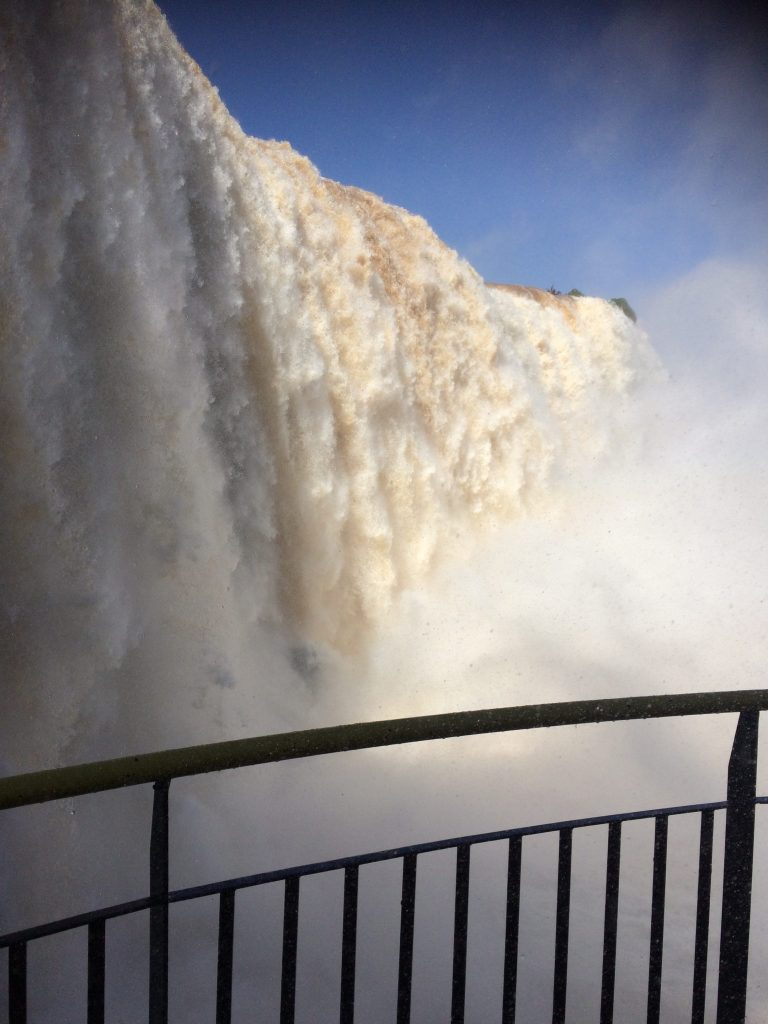 Iguazu Falls Up Close
