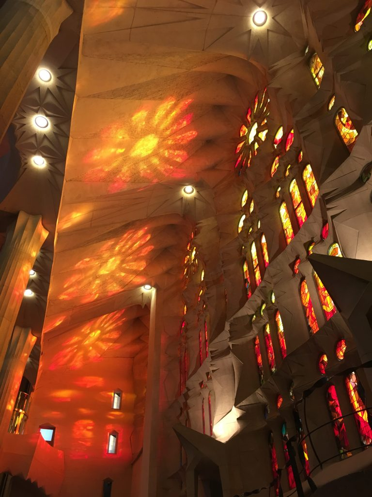 The Light of La Sagrada Familia