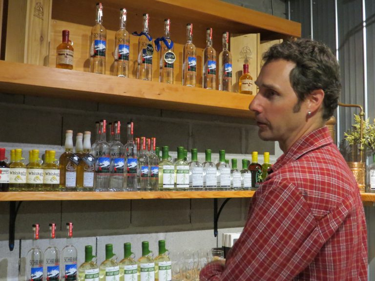 Tyler Schramm, Founder and Master Distiller Pemberton Distillery British Columbia