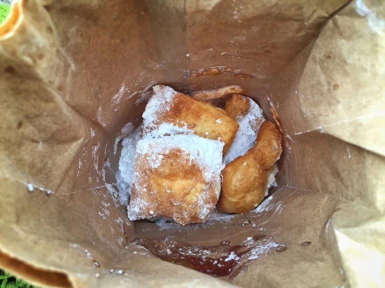 Beignets from Morning Call Coffee House New Orleans