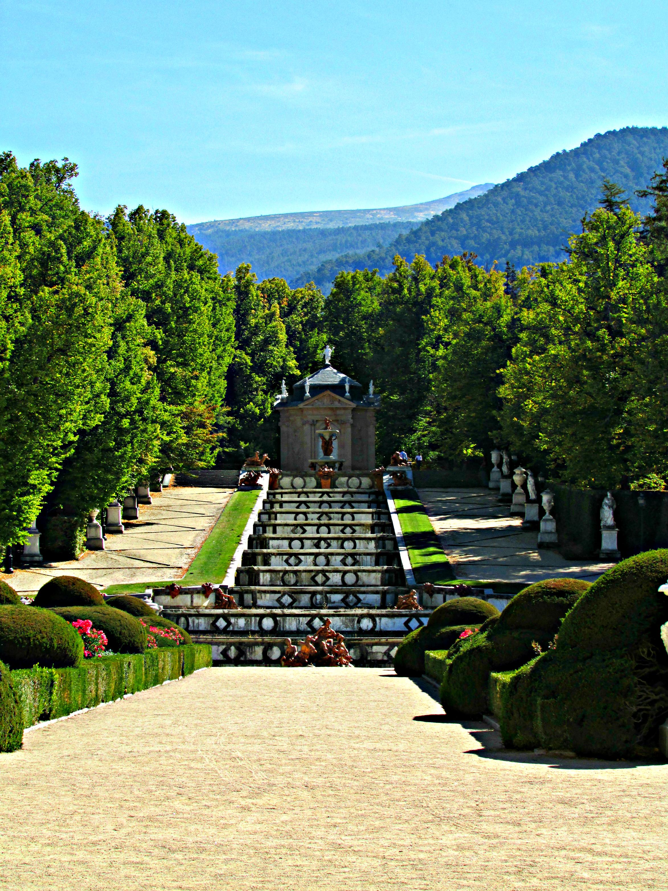 The Royal Gardens of La Granja San Ildefonso Spain