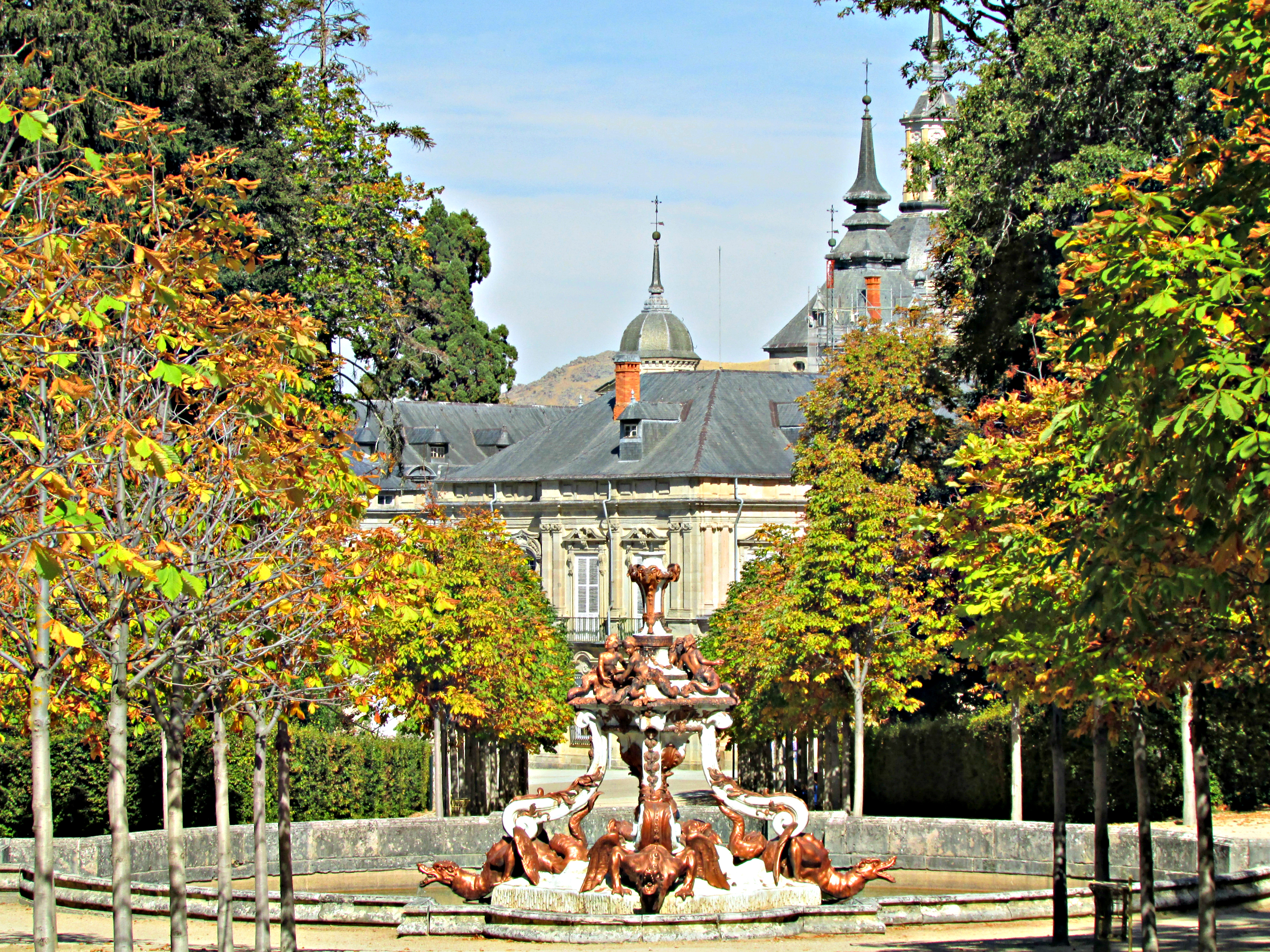 Fountain of the Dragons Royal Palace La Granja
