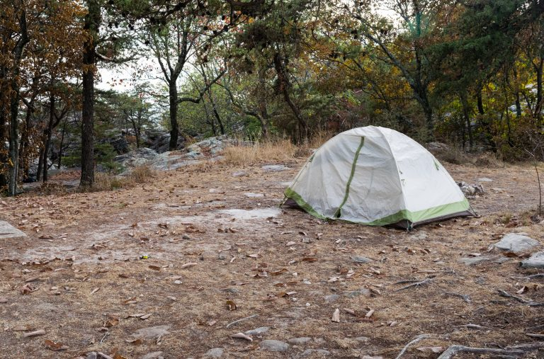 Primitive Camping Sites Cherokee Rock Village