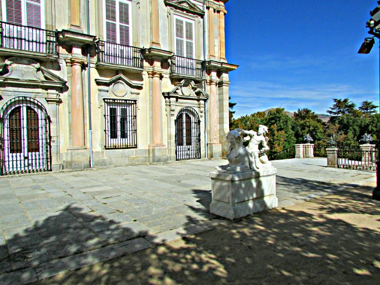 Terrace at Royal Palace of La Granja
