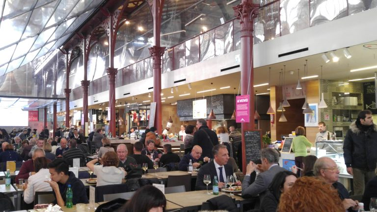 The Food Court at Mercato Centrale Firenze