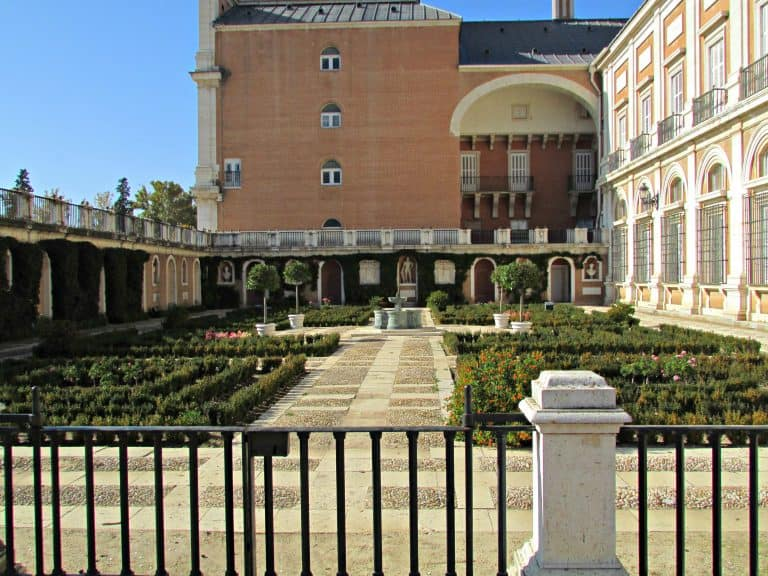 The Kings Garden Royal Palace of Aranjuez