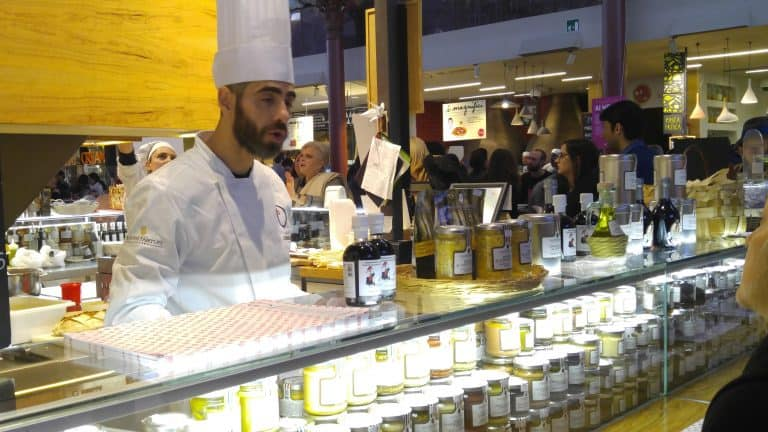 The Olive Man at Mercato Centrale Firenze