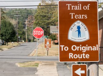 Trail of Tears National Historic Trail Road Markers