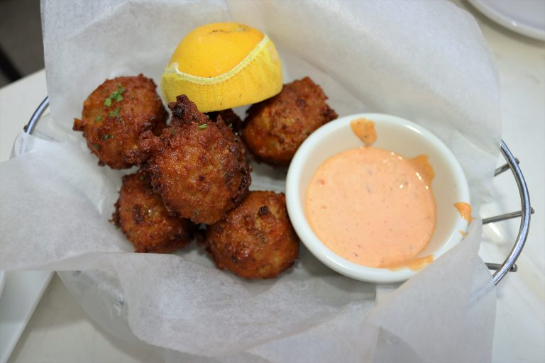 Penguin Hotel Conch Fritters