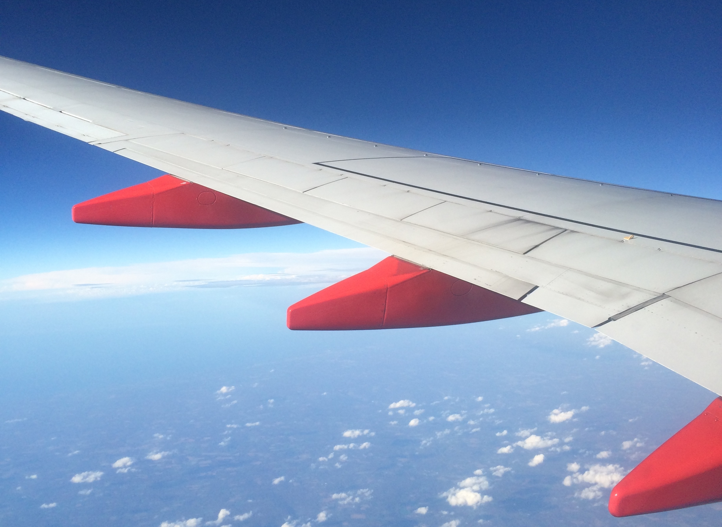 Jet wing - a long flight can lead to jet lag