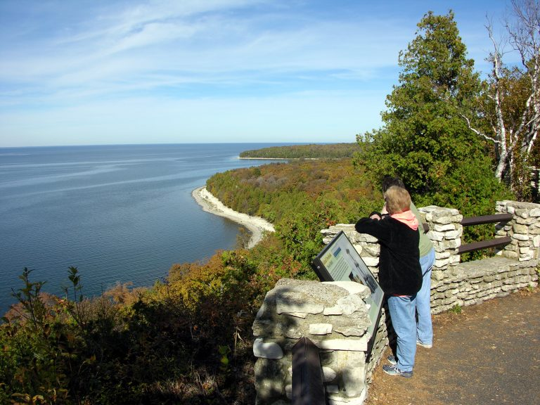 Peninsula State Park Sven's Bluff Door County