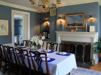 Dining Room Harbor Light Inn Marblehead