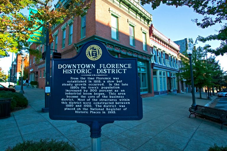 Florence Alabama Historic District