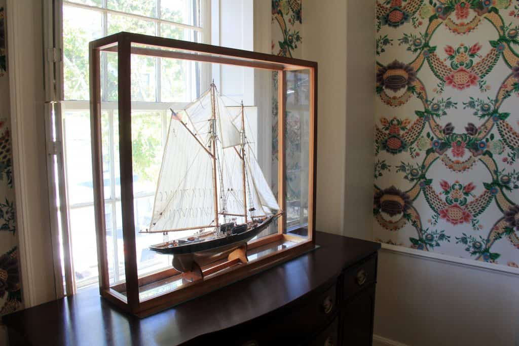 Model Sailboat Harbor Light Inn Marblehead