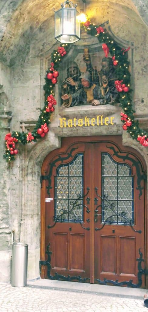 Ratskeller Door in Munich