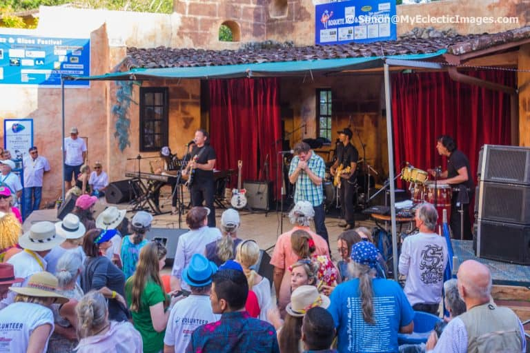 Tommy Castro and Lee Oskar Performing at Valle Escondido Boquete Jazz and Blues Festival