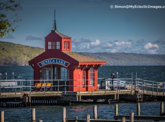 Boathouse on Seneca Lake Watkins Glen NY